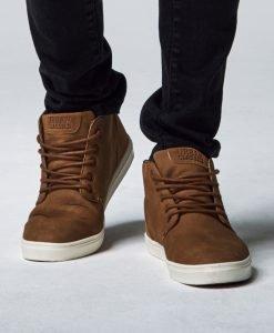 Pantofi urban cu sireturi toffee-alb Urban Classics - Incaltaminte urban - Urban Classics>Incaltaminte urban