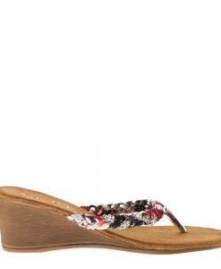 Papuci dama Bunty negri - Incaltaminte Dama - Papuci Dama