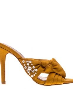 Papuci dama Gemma galbeni - Incaltaminte Dama - Papuci Dama