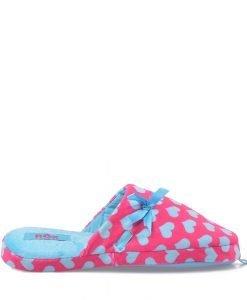 Papuci dama Rox Collection 63 rosii cu albastru - Incaltaminte Dama - Papuci Dama