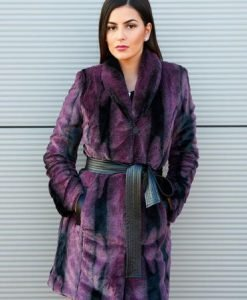 Pardesiu PrettyGirl Aristocratic Women Purple - Paltoane -