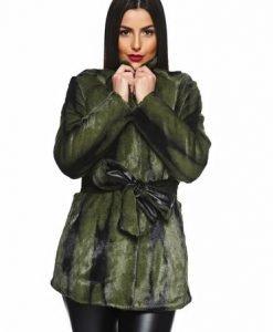 Pardesiu PrettyGirl Lovely Winter Green - Paltoane -
