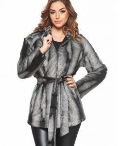 Pardesiu PrettyGirl Lovely Winter Grey - Paltoane -