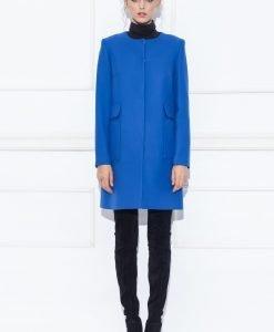Pardesiu albastru elegant Albastru - Imbracaminte - Imbracaminte / Paltoane