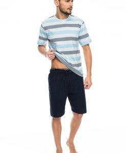 Pijama barbateasca Blue stripes - Lenjerie pentru barbati - Pijamale