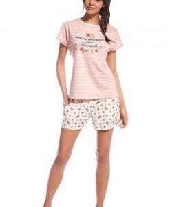 Pijama dama Provence roz - Lenjerie pentru femei - Pijamale dama