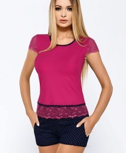 Pijama dama Roxy Fuchsia - Lenjerie pentru femei - Pijamale dama