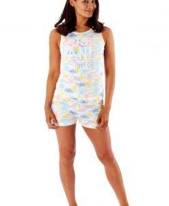 Pijama dama Tropical - Lenjerie pentru femei - Pijamale dama
