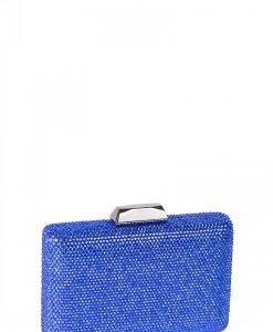 Plic albastru cu pietre de sticla Albastru - Genti - Genti / Clutch-uri
