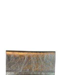Plic de seara din piele naturala PAB bronz sidef - Plicuri -