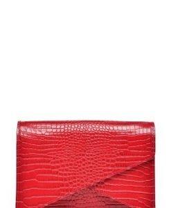 Plic din piele naturala croco ANNE rosu - Plicuri -