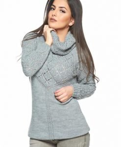Pulover MissQ Mistery Love Grey - Pulovere -