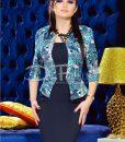 Rochie Black Blue Flowers - ROCHII - Rochii Office