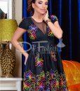 Rochie Colorful Black - ROCHII - Rochii de Ocazie