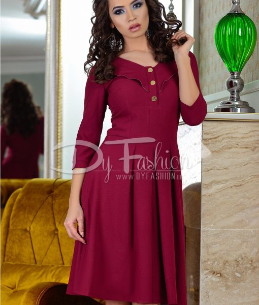 Rochie Come Up Burgundy – ROCHII – Rochii Office