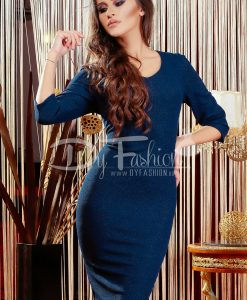 Rochie Dark Blue Specialized - ROCHII - Rochii Office
