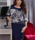 Rochie Timeless Red Flowers - ROCHII - Rochii Office