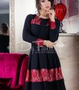 Rochie Under Red Lace - ROCHII - Rochii Office