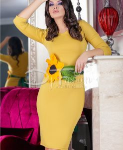 Rochie Yellow Sunflower - ROCHII - Rochii Office