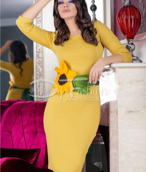 Rochie Yellow Sunflower – ROCHII – Rochii Office