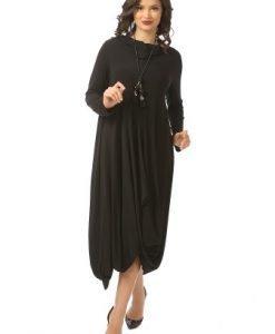 Rochie de seara R028-NM neagra - Marimi mari -