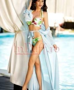 Rochie de vara bleu din voal - ROCHII -