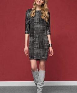 Rochie eleganta Onita Grey - Haine si accesorii - Rochii si fuste