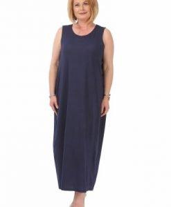 Rochie lunga bleumarin R111-M - Marimi mari -