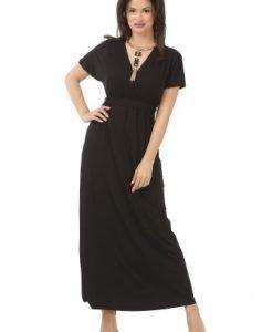 Rochie neagra lejera R121-M - Marimi mari -