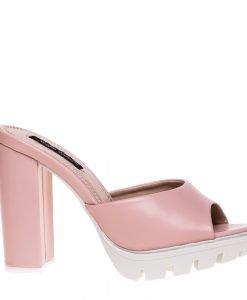 Saboti dama Jean roz - Incaltaminte Dama - Papuci Dama