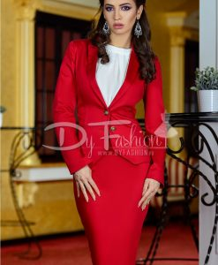 Sacou Red Vely - Office Collection -
