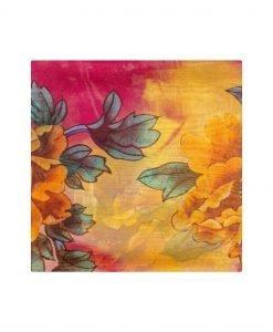 Sal multicolor din matase Galben - Accesorii - Accesorii / Saluri
