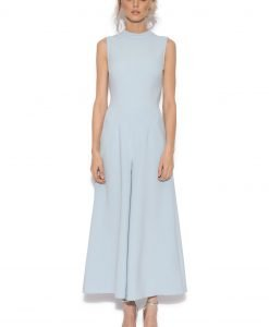 Salopeta culottes eleganta Albastru Deschis - Imbracaminte - Imbracaminte / Salopete