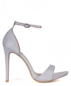 Sandale argintii Argintiu - Incaltaminte - Incaltaminte / Sandale