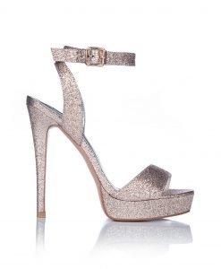 Sandale aurii cu platforma Auriu - Incaltaminte - Incaltaminte / Sandale