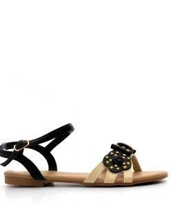 Sandale copii Xandra negre - IMPORT - Reduceri explozive