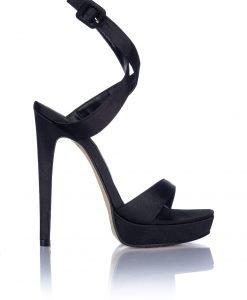 Sandale negre elegante Negru - Incaltaminte - Incaltaminte / Sandale