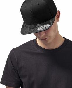 Sapca Visor Snapback Camo negru-camuflaj Flexfit - Sepci snapback - Flexfit>Sepci snapback
