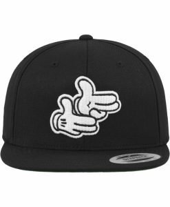 Sapca mesaj Pistol hands negru Mister Tee - Sepci cu mesaje - Mister Tee>Regular>Sepci cu mesaje