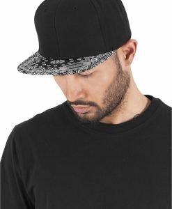 Sepci hip hop Snapback Bandana negru-negru Flexfit - Sepci snapback - Flexfit>Sepci snapback