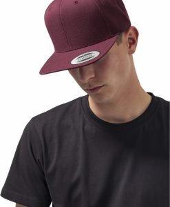 Sepci rap Classic Snapback maro inchis-maro inchis Flexfit - Sepci snapback - Flexfit>Sepci snapback