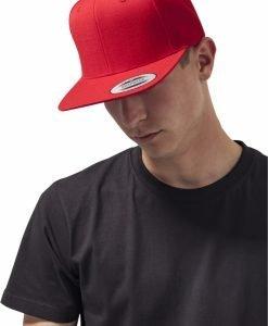 Sepci rap Classic Snapback rosu-rosu Flexfit - Sepci snapback - Flexfit>Sepci snapback