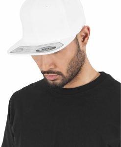 Sepci rap Snapback 110 Fitted alb Flexfit - Sepci 110 - Flexfit>Sepci 110