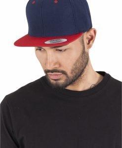 Sepci rap Snapback Classic 2-Tone bleumarin-rosu Flexfit - Sepci snapback - Flexfit>Sepci snapback