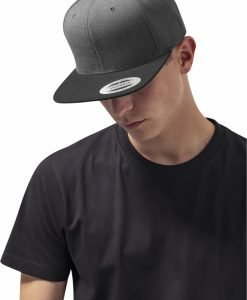 Sepci rap Snapback Classic 2-Tone gri carbune-negru Flexfit - Sepci snapback - Flexfit>Sepci snapback