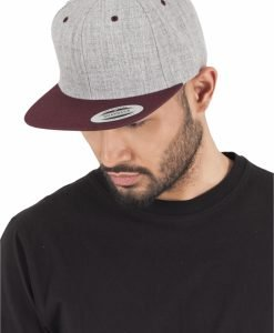 Sepci rap Snapback Classic 2-Tone gri deschis-maro inchis Flexfit - Sepci snapback - Flexfit>Sepci snapback