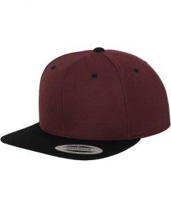 Sepci rap Snapback Classic 2-Tone maro inchis-negru Flexfit - Sepci snapback - Flexfit>Sepci snapback