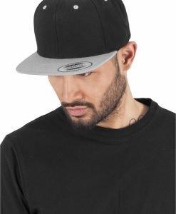 Sepci rap Snapback Classic 2-Tone negru-argintiu Flexfit - Sepci snapback - Flexfit>Sepci snapback