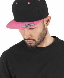 Sepci rap Snapback Classic 2-Tone negru-roz neon Flexfit - Sepci snapback - Flexfit>Sepci snapback