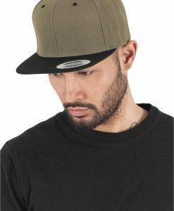 Sepci rap Snapback Classic 2-Tone oliv-negru Flexfit - Sepci snapback - Flexfit>Sepci snapback